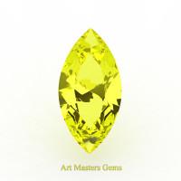 Art Masters Gems Standard 1.25 Ct Marquise Yellow Sapphire Created Gemstone MCG125-YS