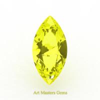 Art Masters Gems Standard 3.0 Ct Marquise Yellow Sapphire Created Gemstone MCG300-YS