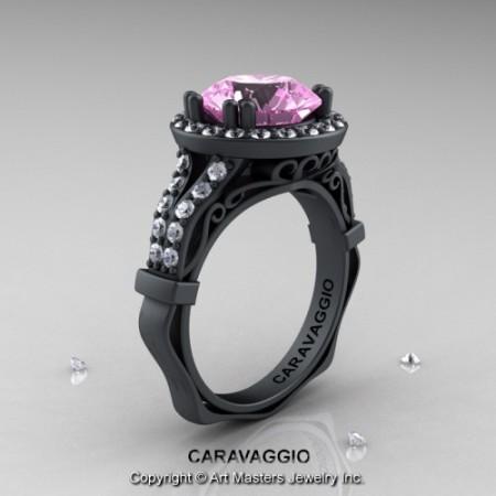 Caravaggio_14K_Matte_Black_Gold_3_Carat_Light_Pink_Sapphire_Diamond_Engagement_Ring_Wedding_Ring_R620_14KMBGDLPS_P_jpg-100622-500×500