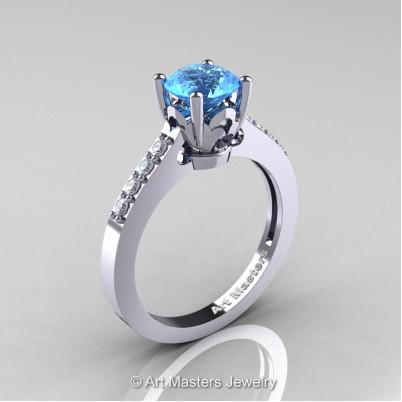 Classic-14K-White-Gold-1-Carat-Blue-Topaz-Diamond-Solitaire-Wedding-Ring-R101-14KWGDBT-P-402×402