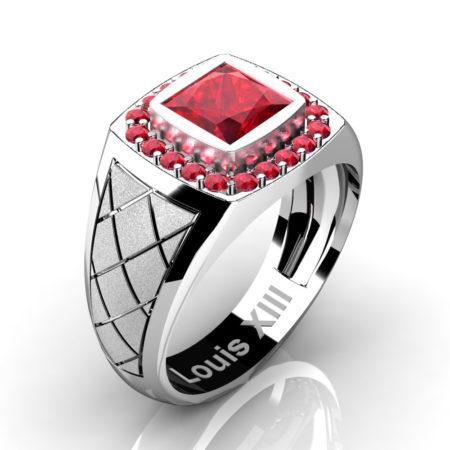 Louis-XIII-Modern-14K-White-Gold-1-25-Carat-Princess-Ruby-Wedding-Ring-R1131-14KSWGR